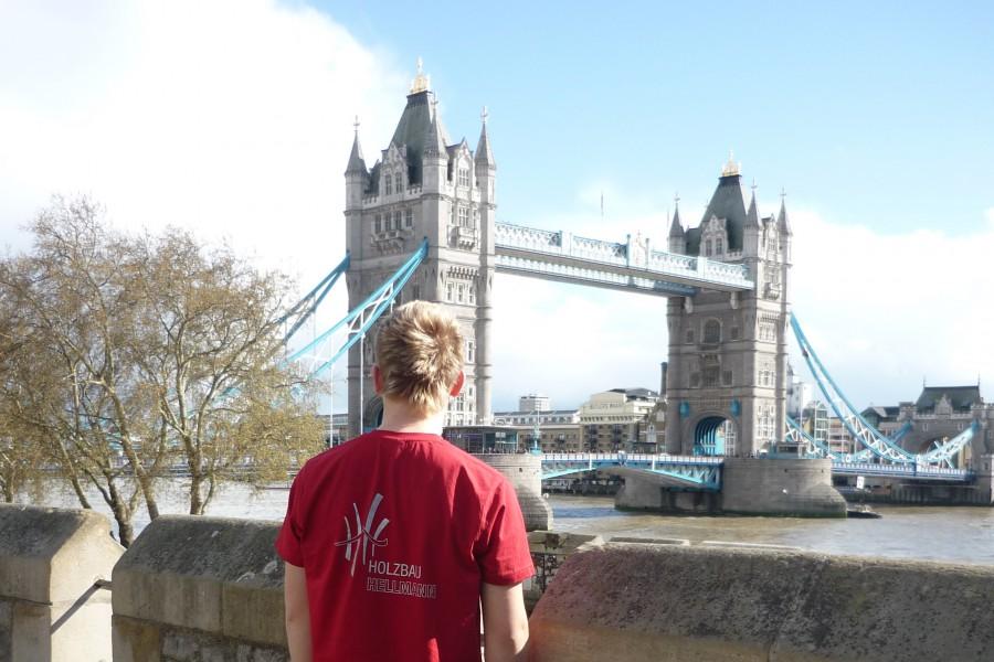 Holzbau Hellmann an der Tower Bridge